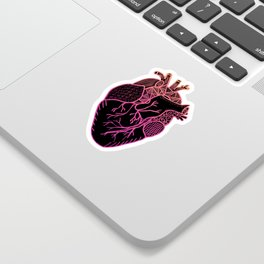 Designer Heart Colors Sticker
