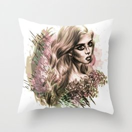 Disappearance Throw Pillow