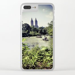 Pature Clear iPhone Case