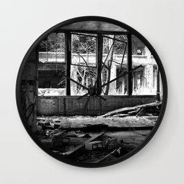 Packard Plant Wall Clock