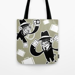 Köpke's Mafia Monkeys! Tote Bag