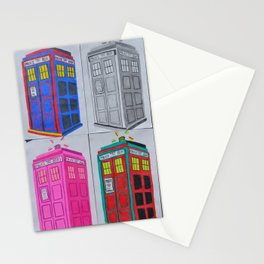 Anywhere in Time and Space Stationery Cards