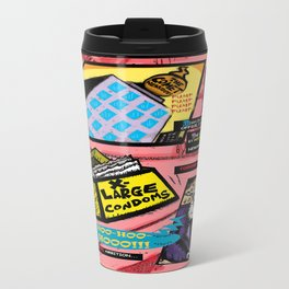 Bird of Steel Comix - Page #3 of 8 (Society 6 POP-ART COLLECTION SERIES)  Travel Mug