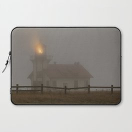 Cabrillo Lighthouse Mendocino California Laptop Sleeve