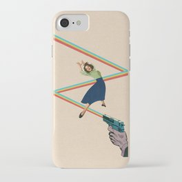 Dodged A Bullet iPhone Case