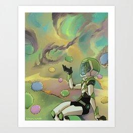Trash Nebula Art Print
