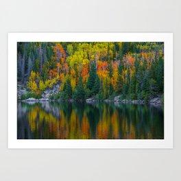 Reflections of Autumn Art Print