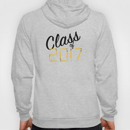 Class of Pencils 2017 Black Font Hoody