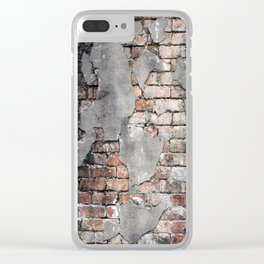 New Orleans Bricks Clear iPhone Case