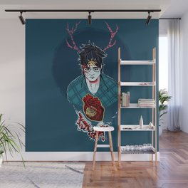 Hearts Direction Wall Mural