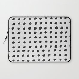 Scribble Dots Laptop Sleeve
