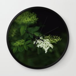A bunch of lonesome flowers Wall Clock