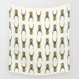 Cyclommatus Elaphus (Stag Beetle) Wall Tapestry