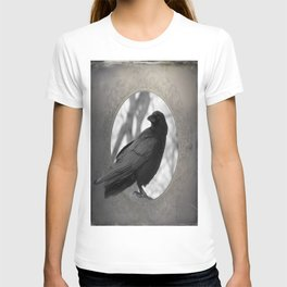 Portrait Of A Crow T-shirt