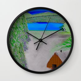 Wintry ... Wall Clock