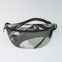 Enso Groove F by Kathy Morton Stanion Fanny Pack