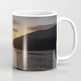 Eastern Oregon Sunset in March Coffee Mug