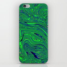 Psychedelic Abstract #1 iPhone Skin