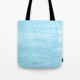 Colors of the Sea Water - Clear Blue Tote Bag