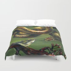 Unlikely Friends Duvet Cover