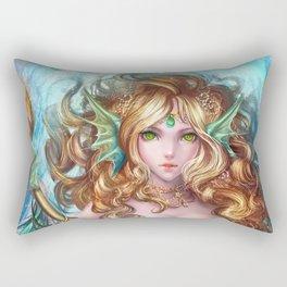 Marygill, the Mermaid Rectangular Pillow