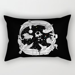 Depth of Discovery (A Case of Constant Curiosity-B/W) Rectangular Pillow