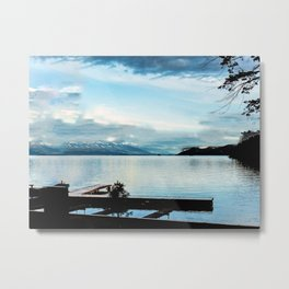 The Lake is Where I Live Metal Print