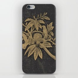 Antiquarian Birds iPhone Skin