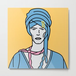 David Bowie – Blue Jean Metal Print