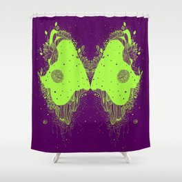 The eyes of universe Shower Curtain