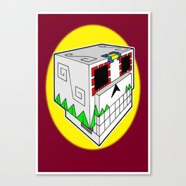 SugarCube Canvas Print