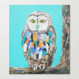 Imaginary owl Canvas Print