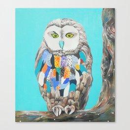 Imaginary owl Canvas Print