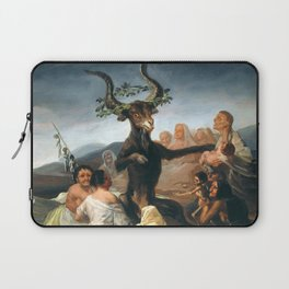 The Sabbath of Witches Goya Painting Laptop Sleeve