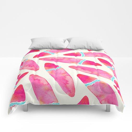Pink Surf Comforters