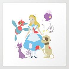 Team Alice Art Print