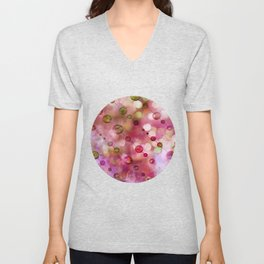 Cryptic fancy light in vibrant colors Unisex V-Neck
