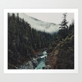 When the sky touch the wild Art Print