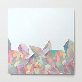 Crystallized II Metal Print