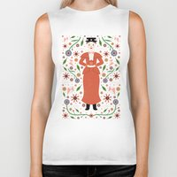 mary poppins Biker Tanks featuring Mary Poppins by Carly Watts