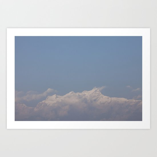 light winds Art Print