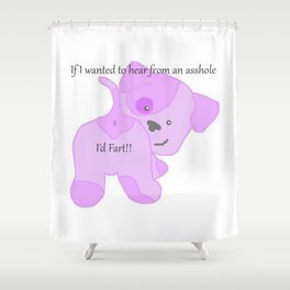 Puppy Farts Shower Curtain