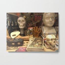 Cabinet Of Curiosities Metal Print