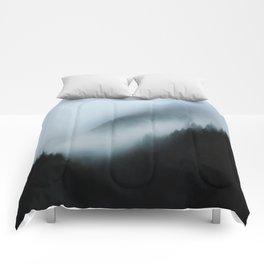 Foggy British Columbia Comforters