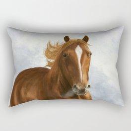 Wintery Breath Rectangular Pillow
