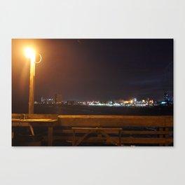 Pier View Canvas Print