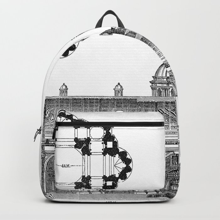 St. Peter Basilica - Rome, Italy Backpack