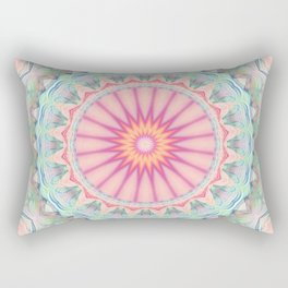 Mandala pastel no. 5 Rectangular Pillow