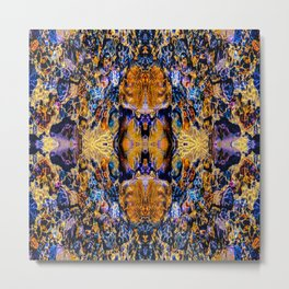 Psychedelic Water Metal Print