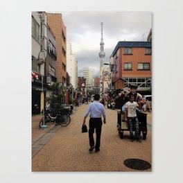 Tokyo stroll Canvas Print